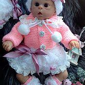 Куклы и игрушки ручной работы. Ярмарка Мастеров - ручная работа Комплект одежды для мини-реборна Офелии. Handmade.