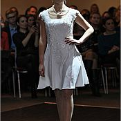 Одежда handmade. Livemaster - original item Simple wedding dress. Handmade.