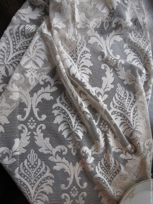 Текстиль, ковры ручной работы. Ярмарка Мастеров - ручная работа. Купить Ткань для штор Мадина. Handmade. Бежевый, классический стиль