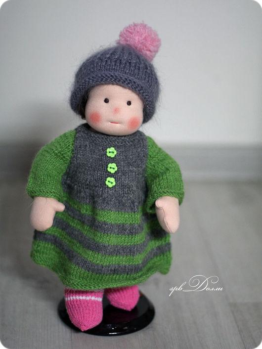 Вальдорфская игрушка ручной работы. Ярмарка Мастеров - ручная работа. Купить Мика  (шерсть) - уютная вальдорфская кукла ручной работы для девочки. Handmade.