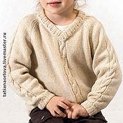 Работы для детей, ручной работы. Ярмарка Мастеров - ручная работа Свитер шерстяной «Маленький Ангел». Handmade.