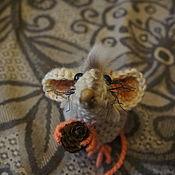Год Крысы 2020 ручной работы. Ярмарка Мастеров - ручная работа Год Крысы 2020: Крыса бежевая. Handmade.