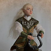 Куклы и игрушки ручной работы. Ярмарка Мастеров - ручная работа авторская кукла Эльф. Handmade.