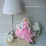 Куклы и игрушки ручной работы. Ярмарка Мастеров - ручная работа Тильда фея Аннушка повтор. Handmade.