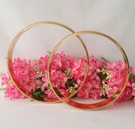 Другие виды рукоделия ручной работы. Ярмарка Мастеров - ручная работа. Купить Кольца свадебные для декора. Handmade. Кольца