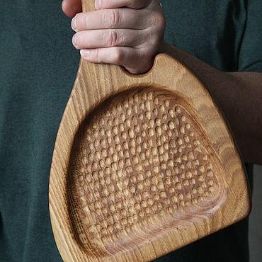 Посуда ручной работы. Ярмарка Мастеров - ручная работа Дубовая доска для сервировки и подачи. Handmade.