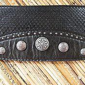Аксессуары handmade. Livemaster - original item Belt leather