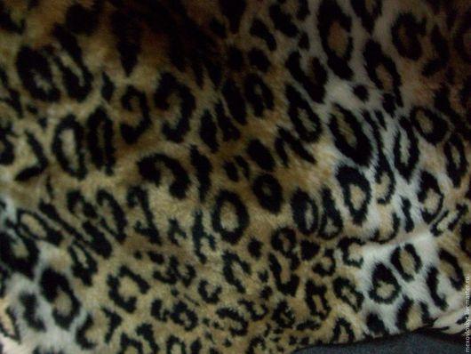 Шитье ручной работы. Ярмарка Мастеров - ручная работа. Купить леопард искусственный 2. Handmade. Мех искусственный, утеплитель