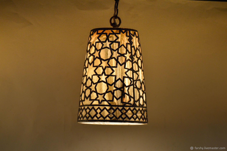 Alabaster, Vase , Table Lamp , Night Light, Natural stone, Nightlights, Cairo,  Фото №1
