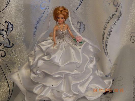 Шкатулки ручной работы. Ярмарка Мастеров - ручная работа. Купить Кукла-шкатулка Невеста. Handmade. Белый, подарок женщине, для украшений