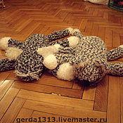 Куклы и игрушки ручной работы. Ярмарка Мастеров - ручная работа Мохнатые коты. Handmade.