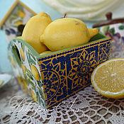 """Для дома и интерьера ручной работы. Ярмарка Мастеров - ручная работа конфетница для кухни """"Прованс и Марокко"""". Handmade."""