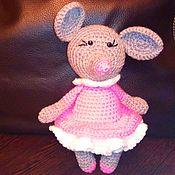 Год Крысы ручной работы. Ярмарка Мастеров - ручная работа Амигуруми мышки-игрушки символы Нового Года. Handmade.