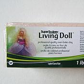 """Материалы для творчества ручной работы. Ярмарка Мастеров - ручная работа Super Sculpey Living Doll """"Light"""" (светло-бежевый) - 454 г. Handmade."""