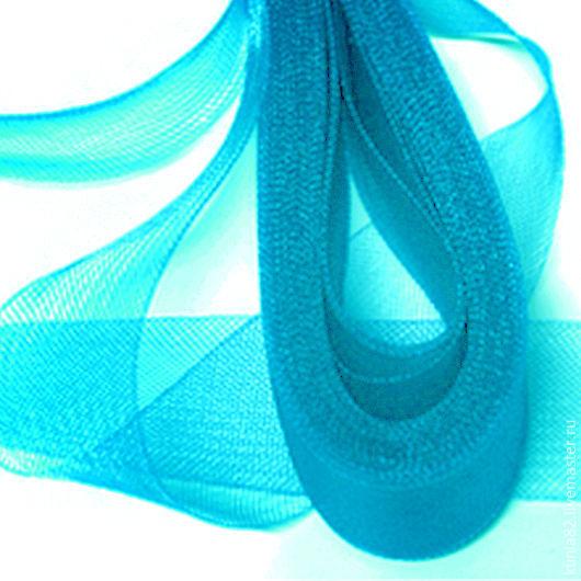 Кринолин / Регилин мягкий ширина 4 см цвет БИРЮЗА полуфабрикат для изготовления шляп и головных уборов. Анна Андриенко. Ярмарка Мастеров.