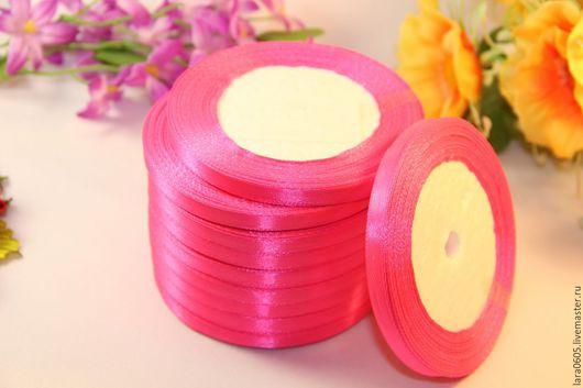 Открытки и скрапбукинг ручной работы. Ярмарка Мастеров - ручная работа. Купить Атласная лента 6 мм, 5 расцветок. Handmade.