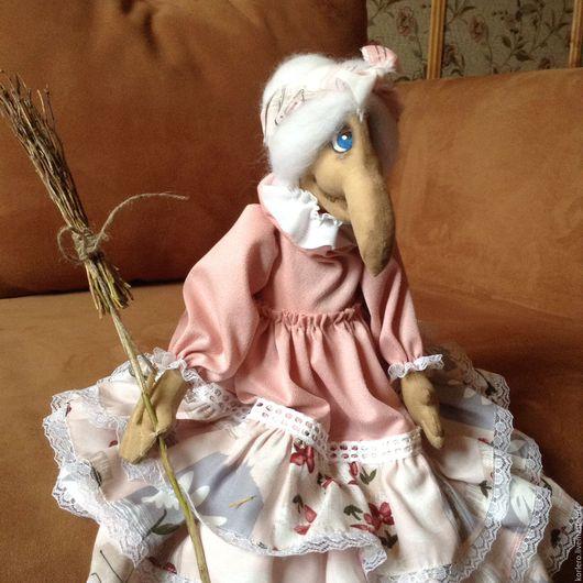 Коллекционные куклы ручной работы. Ярмарка Мастеров - ручная работа. Купить Ядвига- баба Яга. Handmade. Подарок, кукла в подарок