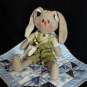 Куклы и игрушки ручной работы. Ярмарка Мастеров - ручная работа Тряпичный заяц.. Handmade.