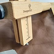 Материалы для творчества handmade. Livemaster - original item Strap Cutter for cutting leather into strips. Handmade.