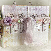 """Свадебный салон ручной работы. Ярмарка Мастеров - ручная работа Книга пожеланий """"Принц и принцесса"""". Handmade."""