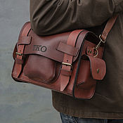 Сумки и аксессуары handmade. Livemaster - original item Leather bag for the photographer. Handmade.