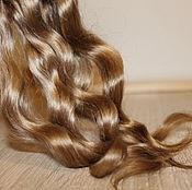 Материалы для творчества handmade. Livemaster - original item Hair for dolls (peanut) Curls Curls for dolls. Handmade.
