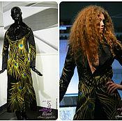 """Одежда ручной работы. Ярмарка Мастеров - ручная работа Пальто роскошное вышитое """"Павлин"""", вышивка или пошив в любом размере. Handmade."""