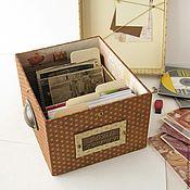 Для дома и интерьера ручной работы. Ярмарка Мастеров - ручная работа Фотобокс коробочка для фото шкатулка хранение. Handmade.