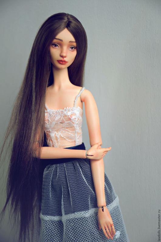 Коллекционные куклы ручной работы. Ярмарка Мастеров - ручная работа. Купить Angie авторская шарнирная кукла ооак. Handmade. dolls