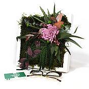 Картины и панно handmade. Livemaster - original item Fotokartin of stabilized plants. Handmade.
