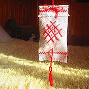 Русский стиль ручной работы. Ярмарка Мастеров - ручная работа Мешочки обереги с травами. Handmade.