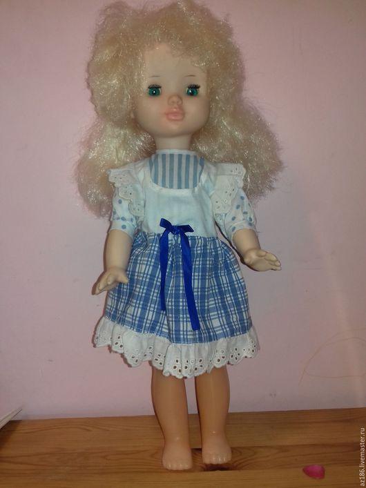 Винтажные куклы и игрушки. Ярмарка Мастеров - ручная работа. Купить Кукла винтаж. Handmade. Кукла, белый