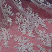 Материалы для творчества handmade. Livemaster - original item Amazing wedding Chantilly lace. Handmade.