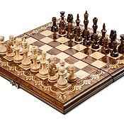 handmade. Livemaster - original item Carved chess