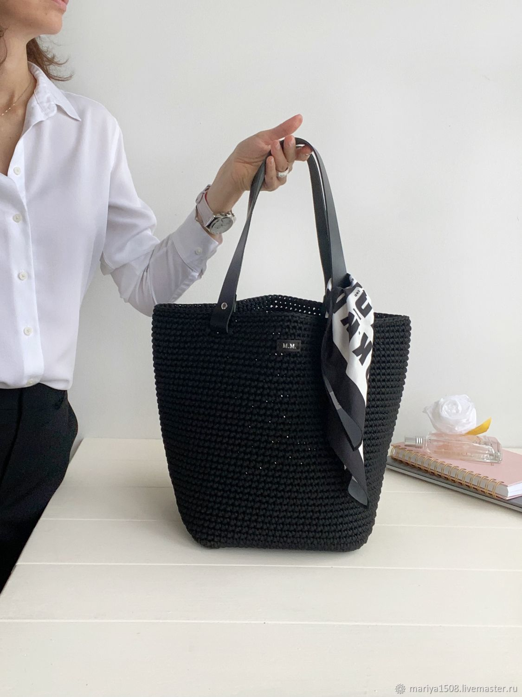 Классическая сумка. Черная сумка, Классическая сумка, Москва,  Фото №1