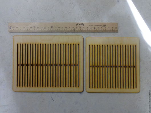 Большое и малое бердо - инструменты для ткачества поясов