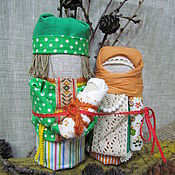 Куклы и игрушки handmade. Livemaster - original item Slavic amulet - Lovebird. Handmade.