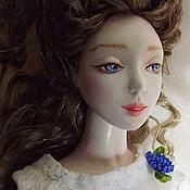 Куклы и игрушки ручной работы. Ярмарка Мастеров - ручная работа Люсьена (подвижная кукла). Handmade.