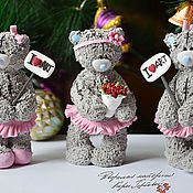 Куклы и игрушки handmade. Livemaster - original item Three bears - ballerinas. interior toy.. Handmade.