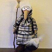 Куклы и игрушки ручной работы. Ярмарка Мастеров - ручная работа Бабка-Ежка.. Handmade.