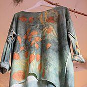 """Одежда ручной работы. Ярмарка Мастеров - ручная работа Джемпер """"Там, за открытыми окнами"""". Handmade."""