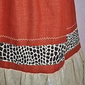Одежда handmade. Livemaster - original item Skirt in Safari style. Handmade.