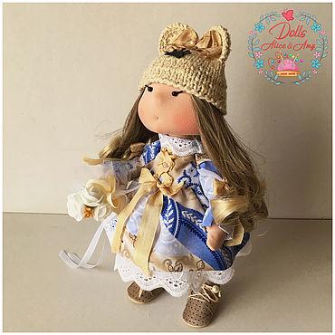 Куклы и игрушки ручной работы. Ярмарка Мастеров - ручная работа Интерьерная кукла Принцесса с букетом. Handmade.