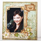 Сувениры и подарки ручной работы. Ярмарка Мастеров - ручная работа Рамка для фотографии. Handmade.