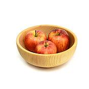 handmade. Livemaster - original item Deep wooden plate D18,5 H8. Bowl. Handmade.