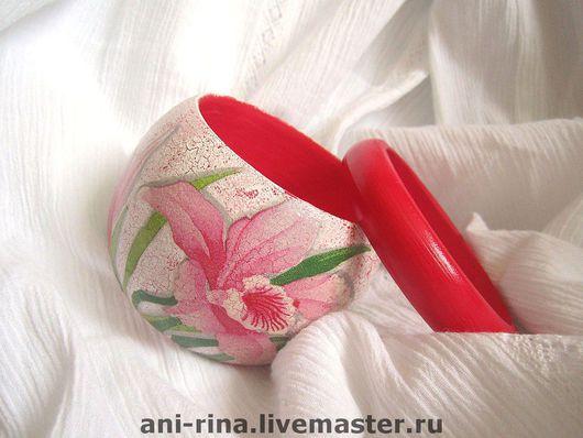 """Браслеты ручной работы. Ярмарка Мастеров - ручная работа. Купить браслет """"Дикая орхидея"""". Handmade. Браслет, оригинальный подарок"""