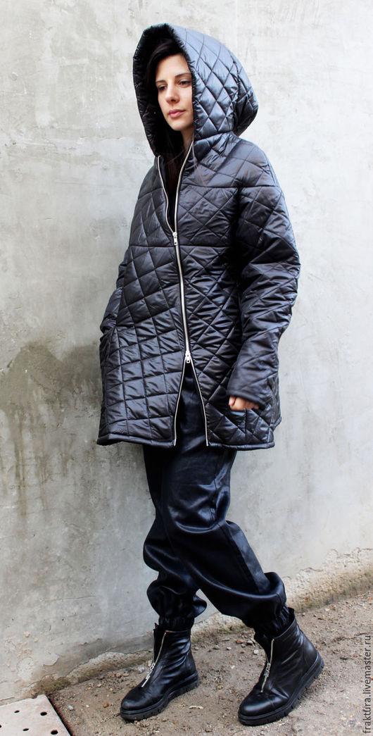 """Верхняя одежда ручной работы. Ярмарка Мастеров - ручная работа. Купить Пальто """" Future"""" / Extra Warm C0008. Handmade."""