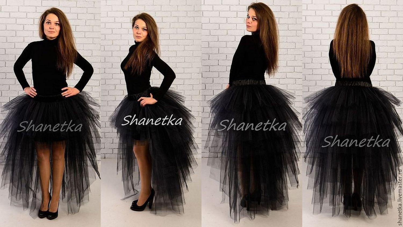 Платья пачки со шлейфом
