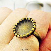 Материалы для творчества handmade. Livemaster - original item The base ring 8-14 mm. Art.OK30. Handmade.