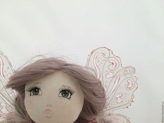 Коллекционные куклы ручной работы. Ярмарка Мастеров - ручная работа. Купить Цветочная кукла-фея. Handmade. Розовый, кружево